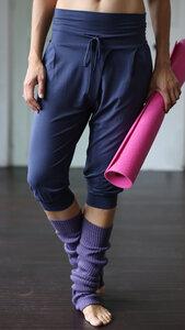 Yoga Pant Padmini Capri - Kismet Yogastyle