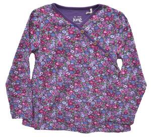Kleinkinder Langarmshirt Mädchen mehrfarbig mit Blumen  - Kite Clothing