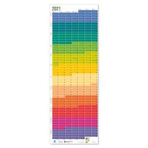"""Wandkalender 2021 """"Regenbogen"""" - Wi-La-No"""