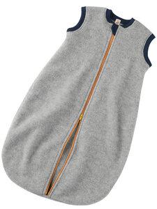 Engel Natur Baby Fleece-Schlafsack ohne Arm reine Bio-Merinowolle - Engel natur