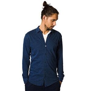 Denim Collar shirt - The Driftwood Tales