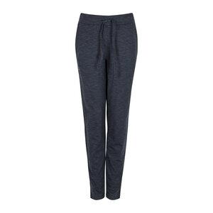 AUDREY MELANGE - Damen - Hose mit Taschen für Yoga und Freizeit aus Biobaumwolle - Jaya