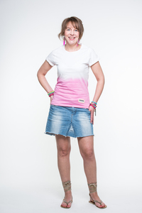 Anagram: Shirt Dip-Dye Pink - anagram