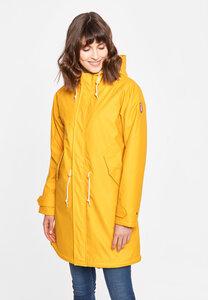 "Damen Regenmantel aus recycled Polyester ""Travel Cozy Friese RC"" - derbe"