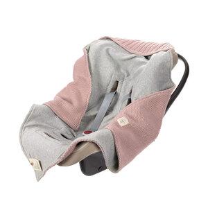 Lässig Babydecke -Einschlagdecke - Knitted Blanket GOTS - Lässig