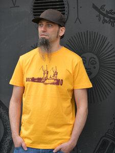 Dock 10 gelb Boy-T-Shirt - T-Shirtladen-Marktstrasse GmbH
