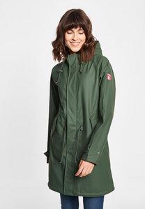 "Damen Regenmantel aus recycled Polyester ""Travel Friese Fisher RC/OC - derbe"