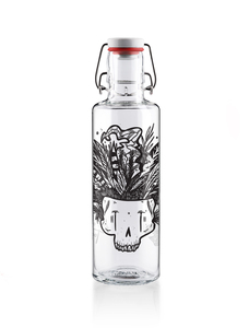 "soulbottle 0,6l • Trinkflasche aus Glas • ""Together"" - soulbottles"