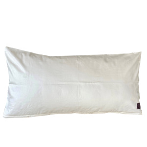 Kissenbezug 40x80cm natur 100% kbA Baumwolle  - Rabens´ organic