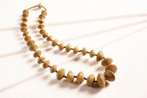 """Halskette aus Papierperlen """"JARARA"""" - PEARLS OF AFRICA"""