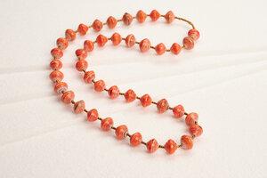 Halskette aus Papierperlen ACHOLI COCO - PEARLS OF AFRICA