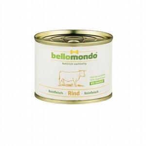 Bio-Rind Reinfleisch Dose (Feuchtfutter für Hunde) - bellomondo