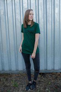 LIMITED Libelle Women dark green Shirt auf LENZING ECOVERO - die edle Faser - ilovemixtapes