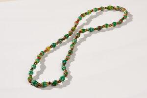 "Filigrane Halskette aus Papierperlen ""LA PETITE MALAIKA"" - PEARLS OF AFRICA"
