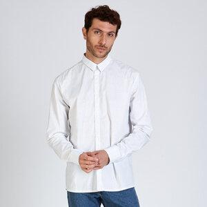 Hemd KENT aus Bio-Baumwolle mit Muster - stoffbruch
