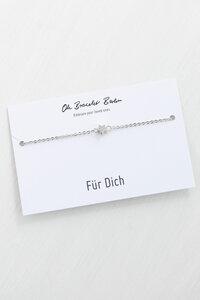 Armband »Stern« | inkl. Für Dich Karte - Oh Bracelet Berlin