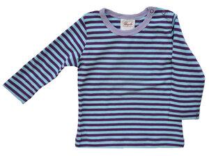 Langarmshirt Baby und Kinder Mädchen gestreift aus 100% Baumwolle (bio)  - People Wear Organic