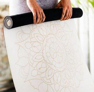 DIYogi Mandala Yogamatte 4mm - DIYogi