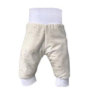 Baby Pumphose / Strampelhose aus Bio-Baumwolle, Beige - BeMoreMaverick