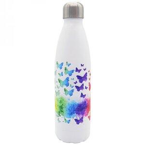 Edelstahl Thermoflasche Schmetterling 500ml - Dora