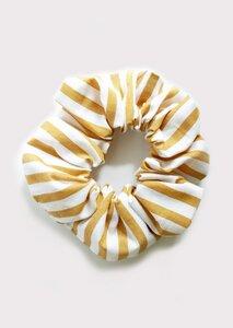 Scrunchie - Haargummi aus gestreiftem Popeline - börd shört
