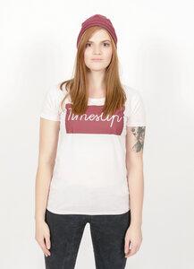 TU T Shirt Rundhals, rosa aus reiner Bio Baumwolle - Barbeck