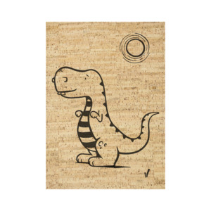 Korkteppich eckig Diego Tyranosaurus - Corkando-KIDS