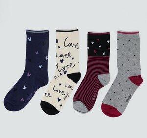 4er Set Socken - Amore Sock Box - Thought
