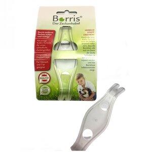 BORRIS Zeckenhebel weiß aus recyceltem Material - Borris®