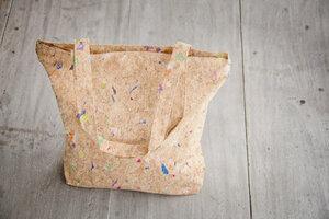 Tote Bag - Vegan, Einkaufstasche aus recyceltem Kork. Cork Bag - BY COPALA