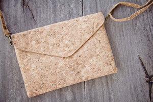 Handtasche - Vegan, Brieftasche aus recyclebarem Kork - BY COPALA
