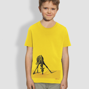 "Kinder T-Shirt, ""In der Savanne""  - little kiwi"