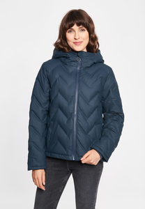 "Damen Winterjacke aus recycled Polyester ""Interlink Girls RC"" - derbe"