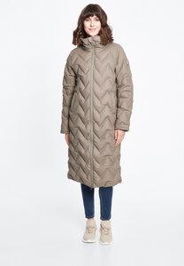 Damen Wintermantel aus recycled Polyester 'Interlink LONG Girls RC' - derbe