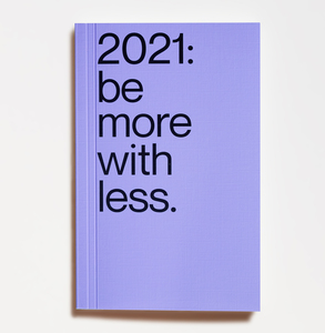 Kalender / Planner 2021 (engl.) -  be more with less - Edition Julie Joliat