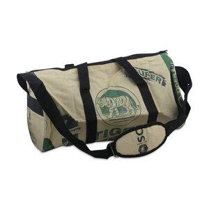 Sporttasche CementBag Größe L aus Zement-/ Fischfutter-/ Reissack - Upcycling Deluxe