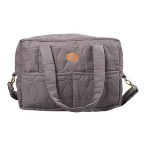 Wickeltasche - Die Kleinere - Soft weich aus Bio-Baumwolle  gesteppt - Filibabba