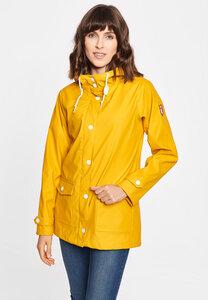 "Damen Regenmantel aus recycled Polyester ""Peninsula FISHER 2.0 RC/OC"" - derbe"