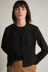Jacke mit Struktur aus Bio-Baumwolle GOTS  - LANIUS