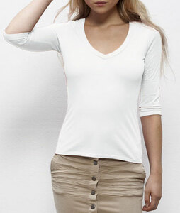 "Damen Dreiviertelarm-Shirt aus Bio-Baumwolle ""Destiny"" - University of Soul"