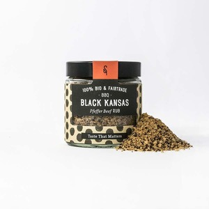 BBQ Black Kansas Bio Grillgewürz 65g - SoulSpice