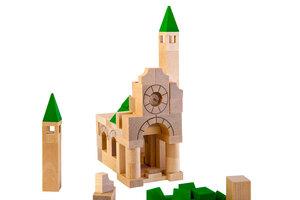 Holz-Bau-Kasten Architekt mit 87 Teilen - Varis Toys