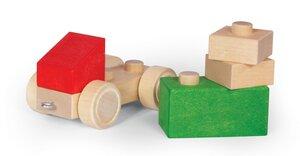 Holzbaukasten Auto  4teilig - Varis Toys