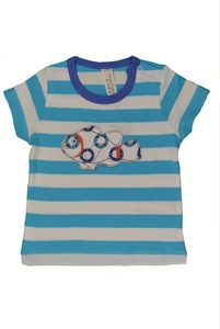 Baby T-Shirt, kurz - sense-organics