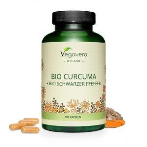 Bio Curcuma & Schwarzer Pfeffer Kapseln - Vegavero