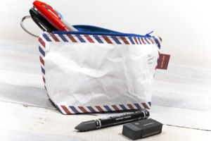 Kosmetiktasche - Airmail - paprcuts
