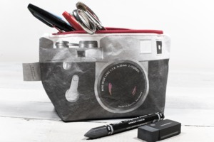 Kosmetiktasche - Kamera - paprcuts