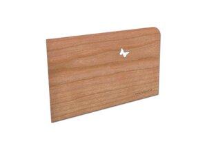 "Postkarte aus Holz ""Danke"" - holzpost"