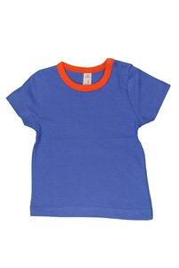 Baby T-Shirt, blau - sense-organics