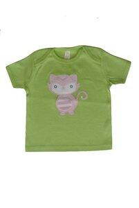 Baby T-Shirt grün mit Motiv - sense-organics